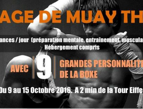 Stage de M.M.A du 8 au 15 octobre 2016 – Paris
