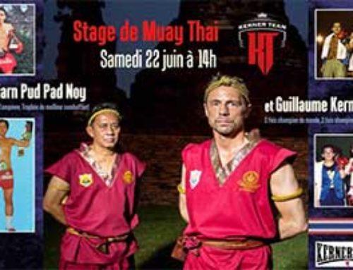 22 Juin 2019 – Stage de Muay Thaï avec Pud Pad Noy et Guillaume Kerner